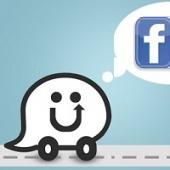 A interação entre o app waze e os eventos do facebook