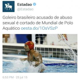 Abuso sexual do goleiro de polo aquático