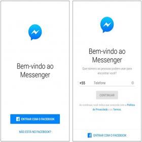 Acebook Messeger fica igual WhatsApp, saio o que mudou.