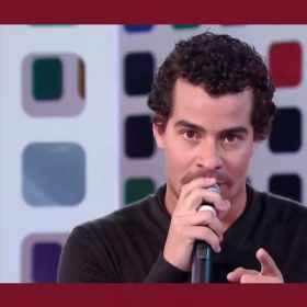Ator Thiago Martins diz Volta, Chapolin! em programa do SBT