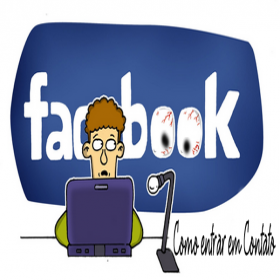 Como entrar em contato com o Facebook por email