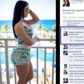 Cura para Gay-Eva Andressa musa do Facebook