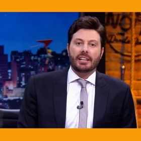 Danilo Gentili cita fala do Professor Girafales