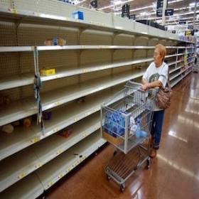 Escassez de alimentos na Venezuela é dramática. A bola da vez é o Brasil, caso o PT seja mantido no poder
