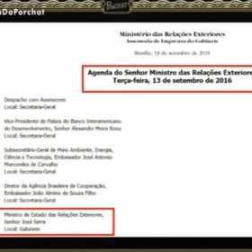 Fábio Porchat compara encontro de José Serra com episódio de Chaves