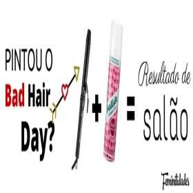 Fique com cabelo de salão em 2 passos