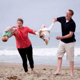 Fotos engraçadas de famílias idem