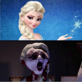 Frozen como você nunca viu