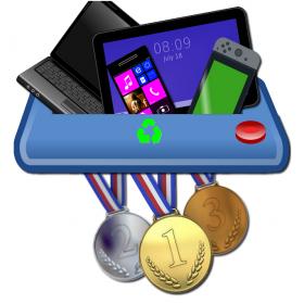 Medalhas Olímpicas de Tóquio 2020 Serão Produzidas de Lixo Eletrônico Reciclado