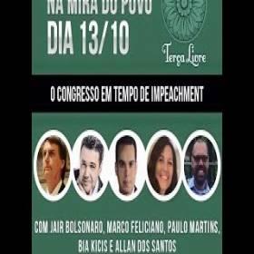 Na mira do povo: O congresso em tempo de impeachment