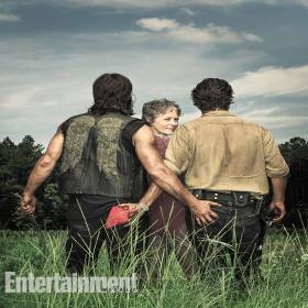 Novas fotos de the walking dead