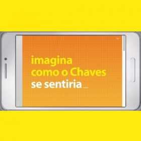 Personagem Chaves participa de campanha publicitária do Banco Itaú