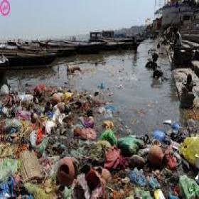 Rios poluídos mata mais que Aids, Infarto e Câncer