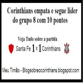 Santa Fe 1x1 Corinthians 06/04/2016