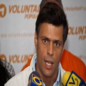 Tirania comunista da Venezuela condena Leopoldo López a 13 anos de cadeia