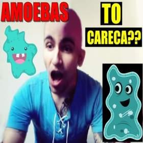 To careca? Eu gosto de amoebas?