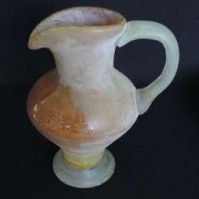 Um vaso de alabastro