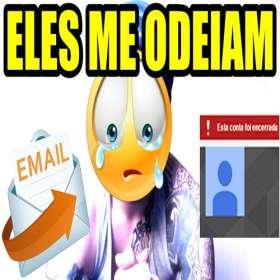 Urgente! Recebi um email - Agencia ameçando me processar e excluir meu canal do youtube